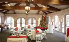 La Jolla Room With Festive Decorations
