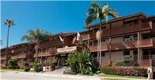 Entrance to La Jolla Shores Hotel