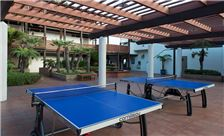 Ping Pong Tables on the Patio