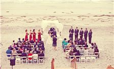 La Jolla Shores Hotel - SheWanders Photography - Beach Wedding Ceremony