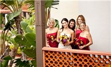 La Jolla Shores Hotel - SheWanders Photography - Bride and Bridesmaids