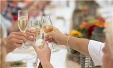 La Jolla Shores Hotel - SheWanders Photography - Champagne Toast