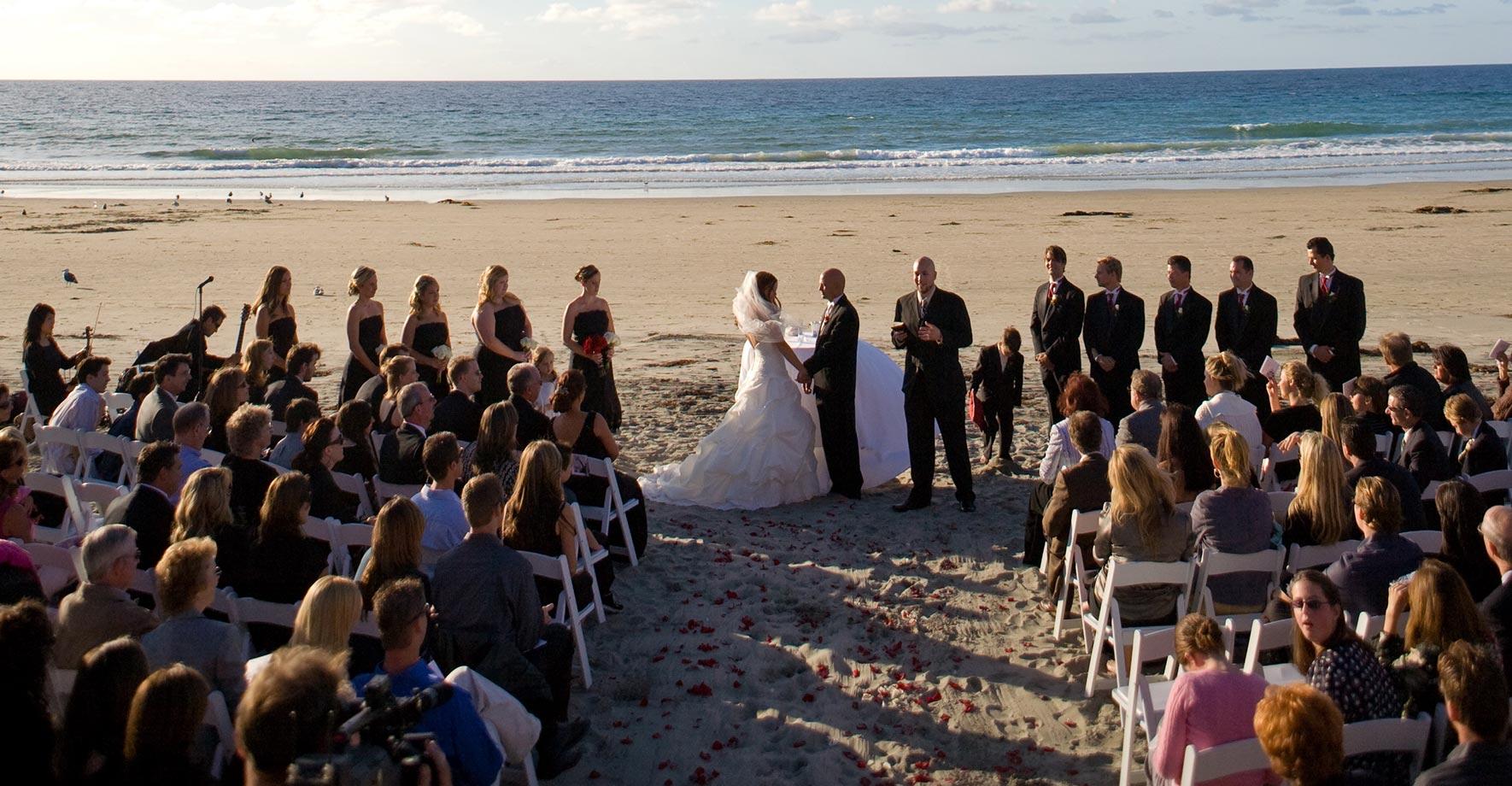Stunning Beach Weddings In San Diego