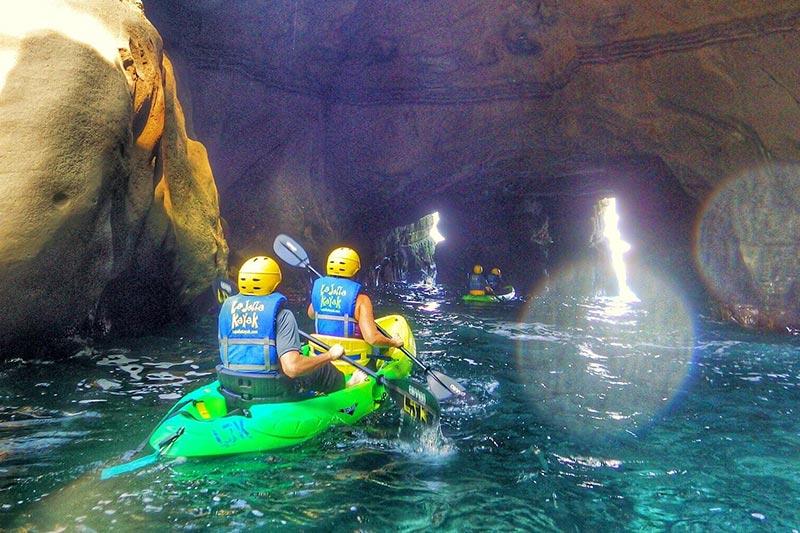 Explore The Ocean by Kayak at California