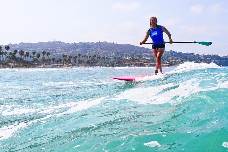 Learn to Surf or Sup (Stand Up Paddle Board) at California