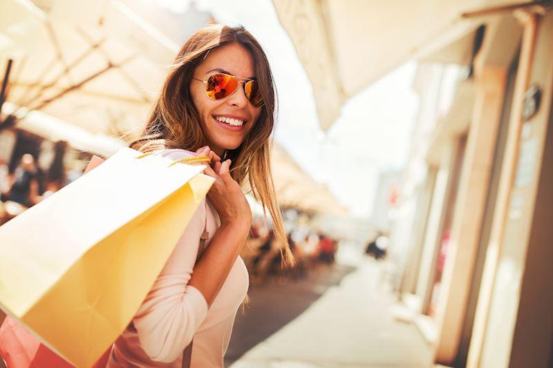 Fashion Valley Mall at California