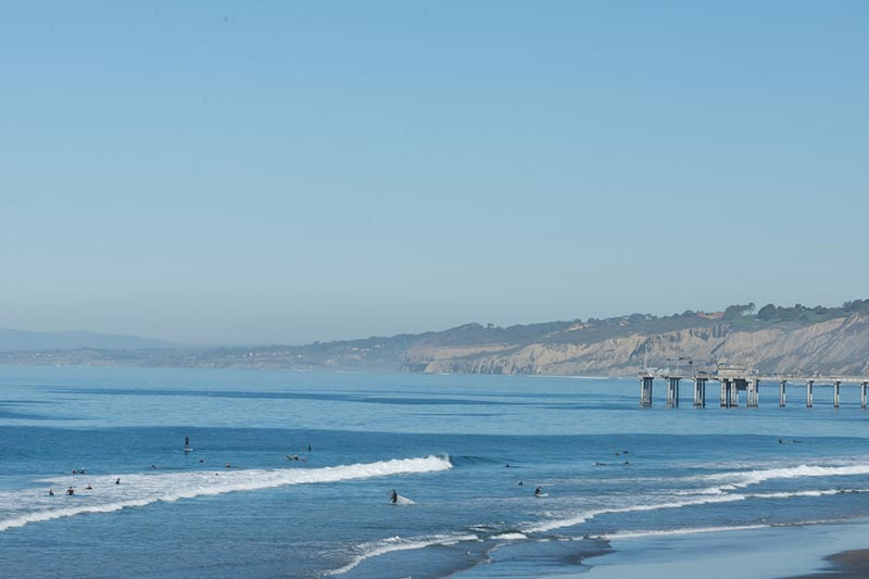 The Beach at La Jolla