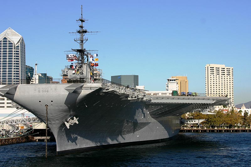 USS Midway Museum at California