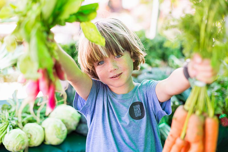 Visit The Farmer's Market at La Jolla