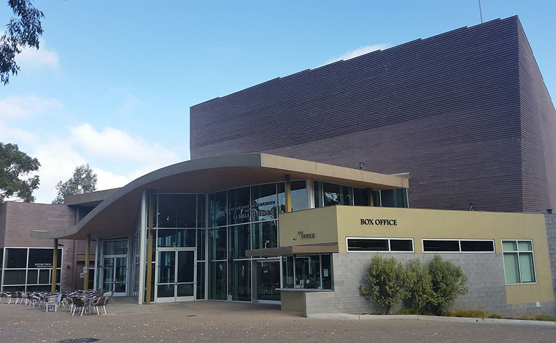 The La Jolla Playhouse building nearby La Jolla Shores Hotel