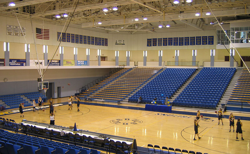RIMAC basketball courts at UCSD