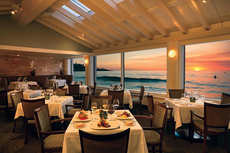 The Marine Room in La Jolla Shores Hotel California