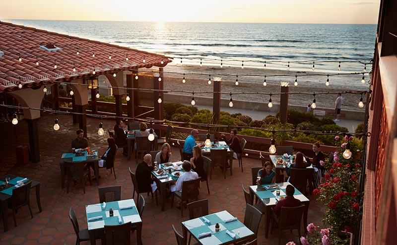 Dining at California Hotel