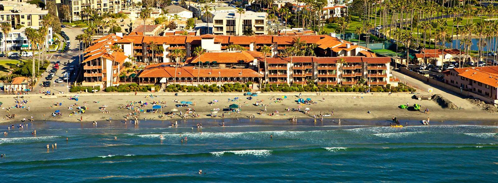 The Beach of La Jolla Shores Hotel