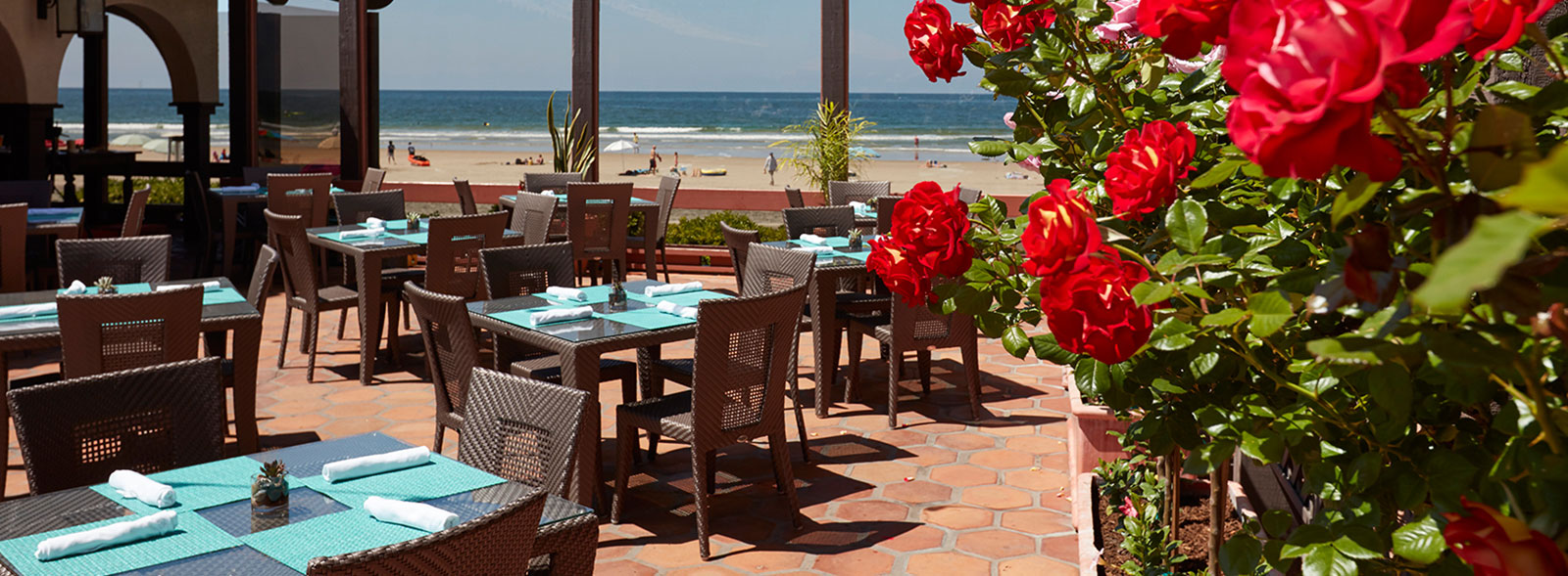 Dining at La Jolla Shores Hotel