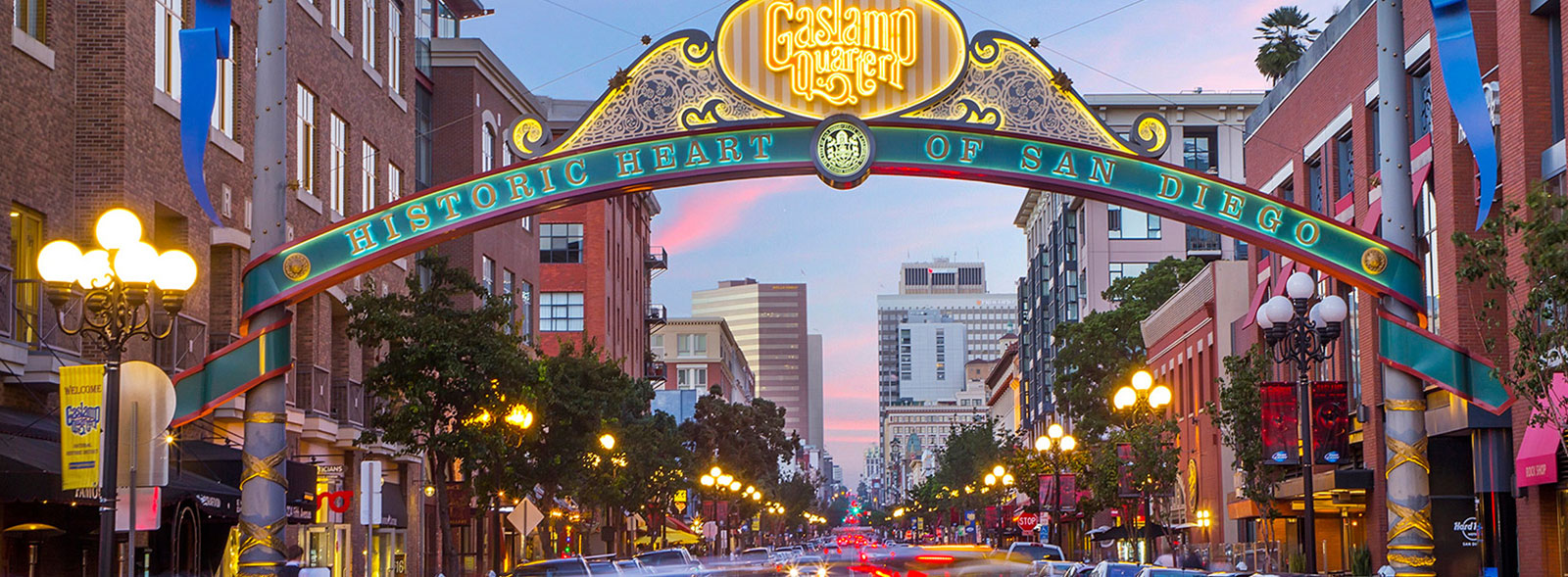 Gaslamp Quarter Eat Drink Dance Explore History