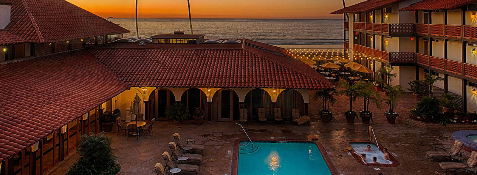 La Jolla Shores Hotel California Sitemap