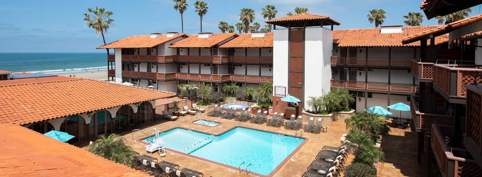 Amenities of La Jolla Shores Hotel California