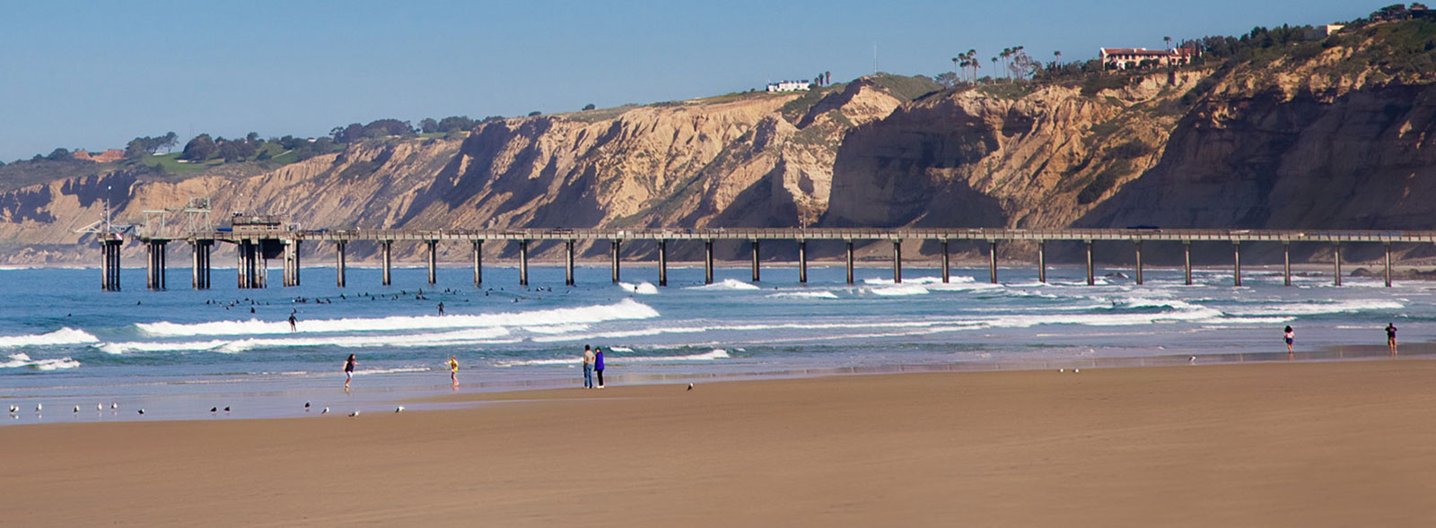 Location of La Jolla Shores Hotel California