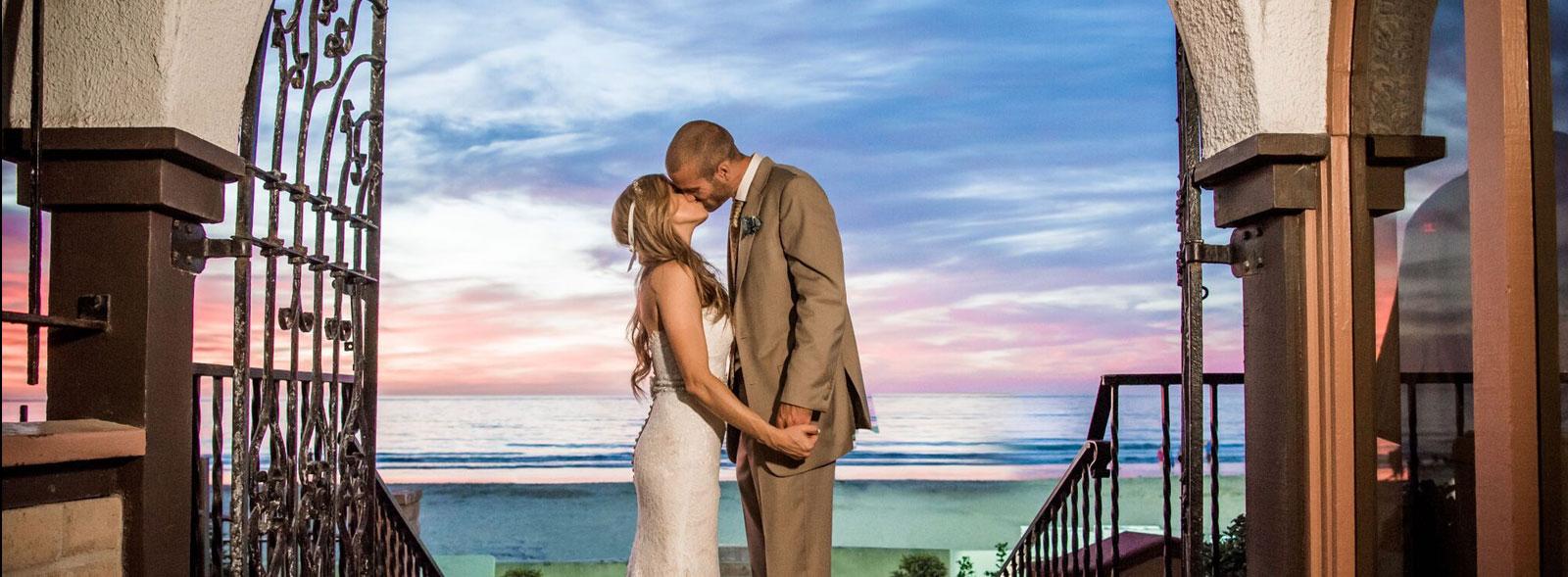 Wedding Overview of La Jolla Shores Hotel California