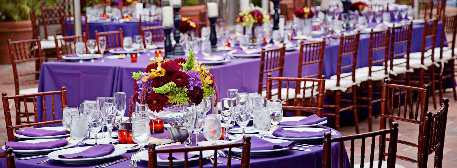 Catering at La Jolla Shores Hotel, California
