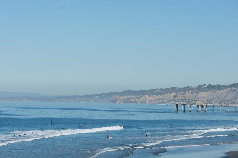 Beachfront Deluxe Room with Kitchenette at La Jolla Shores Hotel California