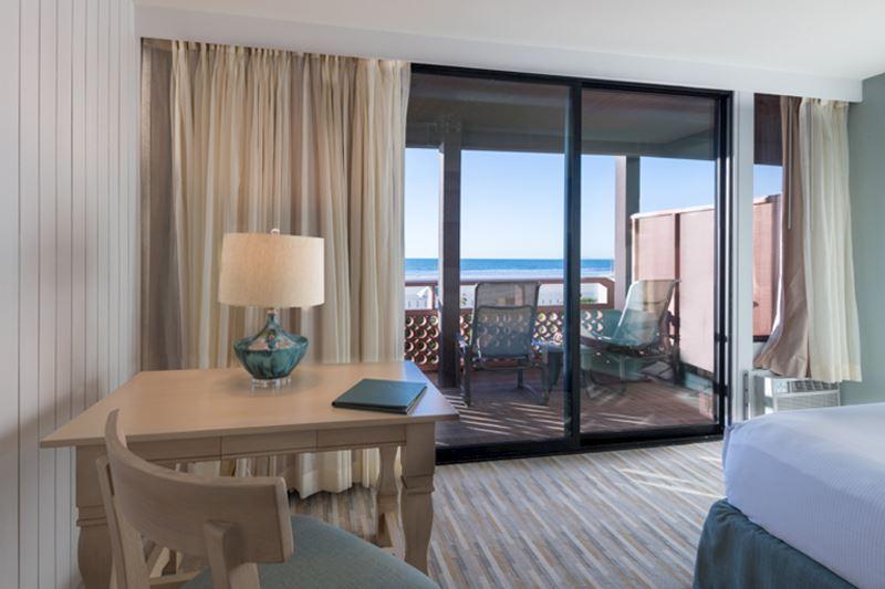 Beachfront Room with Kitchenette at La Jolla Shores Hotel California