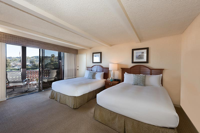 Coastal View Room at La Jolla Shores Hotel California