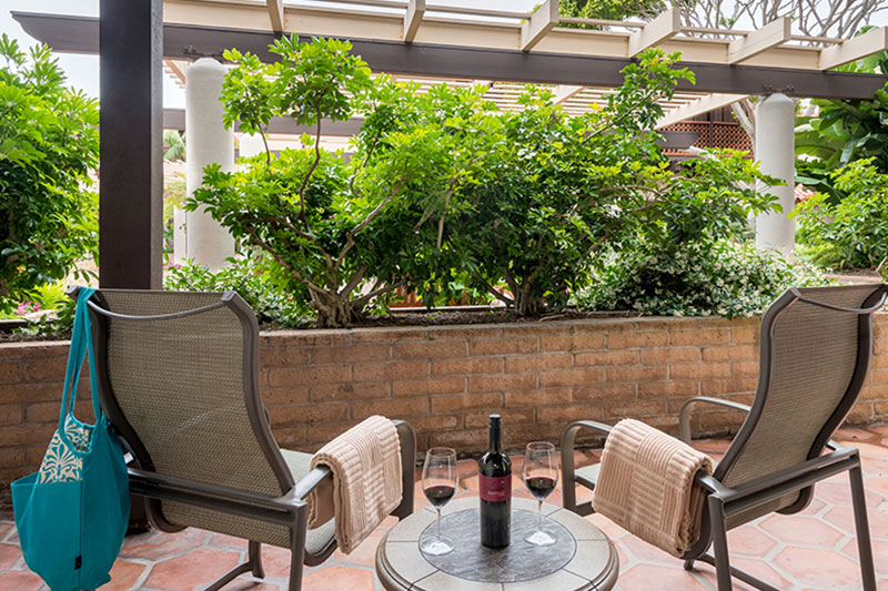 ADA Accessible Garden Patio View Room