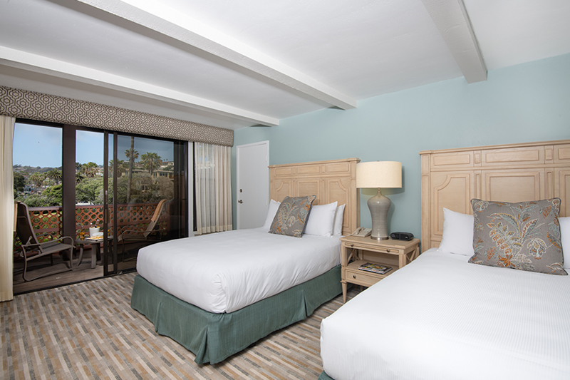 ADA Accessible Coastal View Room at La Jolla Shores Hotel California