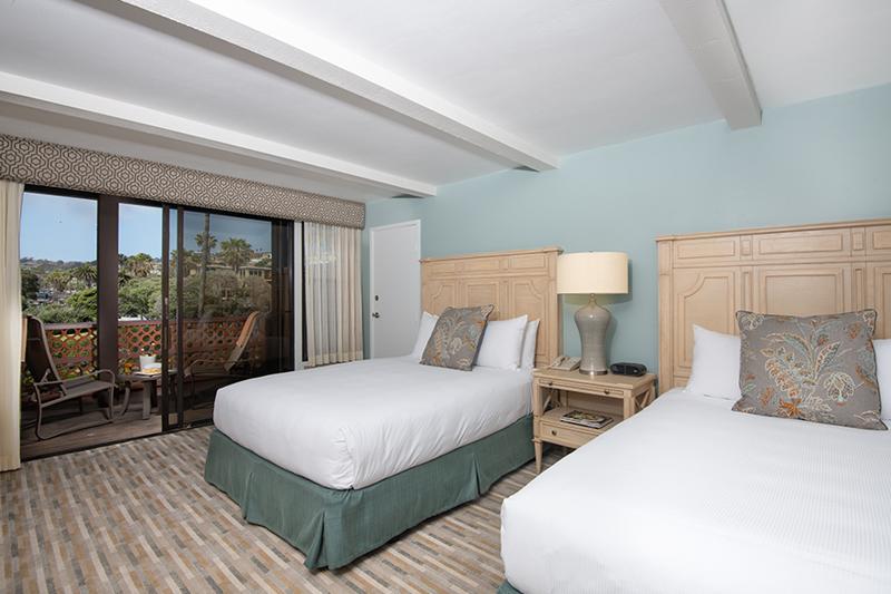 Coastal View Room at La Jolla Shores Hotel California