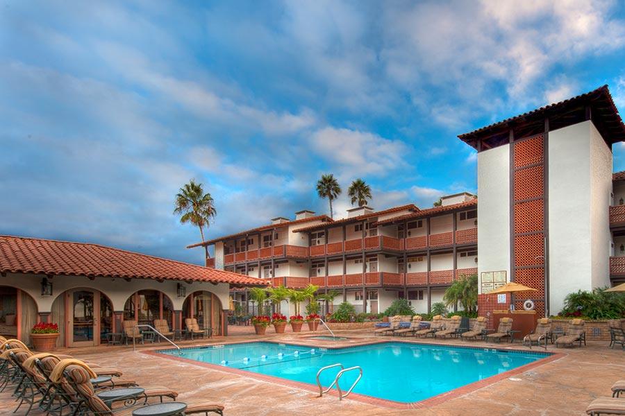 Heated Outdoor Pool Hot Tub, La Jolla Shores Hotel California