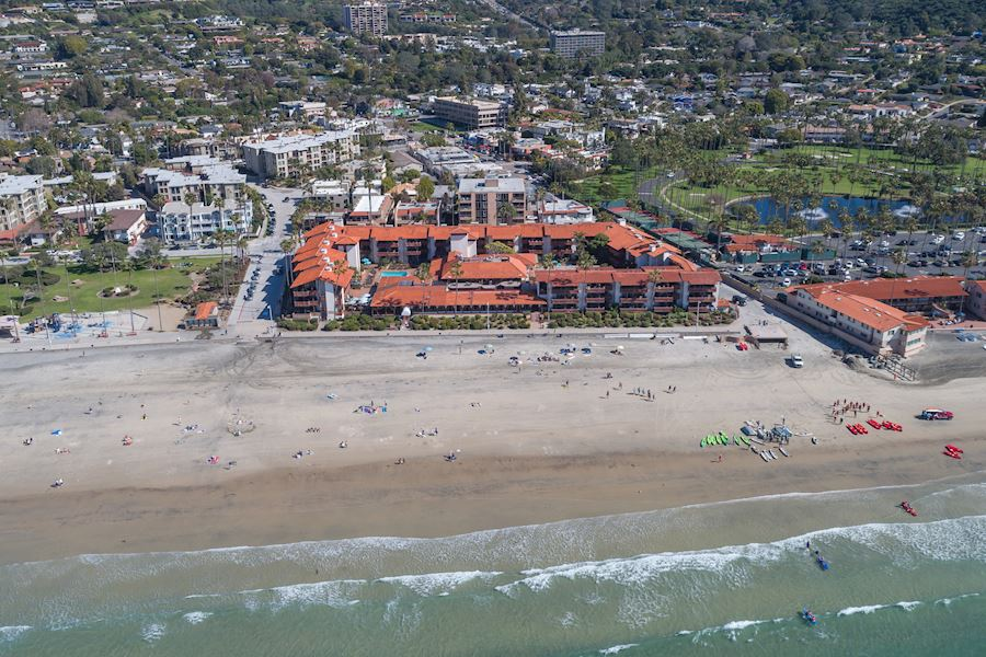 Year Round Destination of La Jolla Shores Hotel California