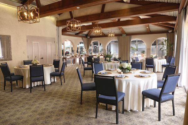 La Jolla Room and Patio of California
