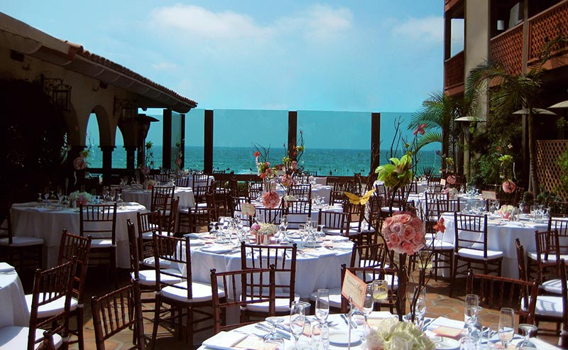 Weddings at La Jolla Shores Hotel California