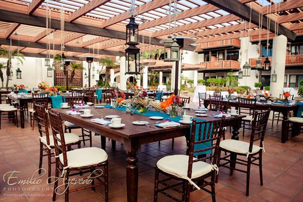 Garden Patio at La Jolla Shores Hotel California