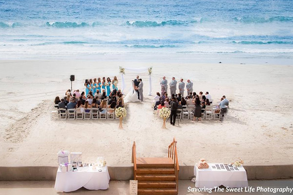 Beautiful La Jolla Wedding Venues La Jolla Shores Hotel